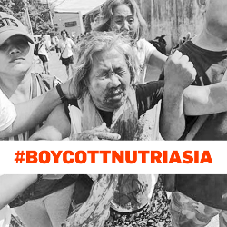 Boykottplakat