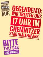 Antinazidemo Chemnitz 27.8.2018