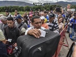 Flüchtlinge aus Nicaragua an der Grenze zu Costa Rica 31.7.2018