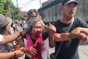 Polizeiüberfall auf Solikundgebung mit NutriAsia Streikenden auf den Philppinen