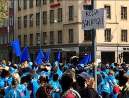 Stockholm 25.8.2018 gegen Antistreik-Abkommen der LO
