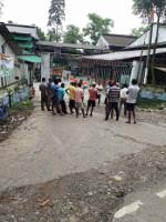 Bestreikte Teeplantage Westbengalen August 2018