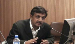 Thirumurugan Gandhi, Sprecher der Bewegung gegen die Vedanta-Kupferhütte in Indien