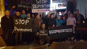 Protest gegen Abschiebung nach Kambodscha