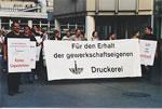 apm: Kampf um gewerkschaftseigene Druckerei