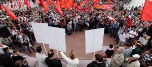 Rentenprotest Moskau 1.9.2018