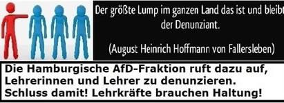 AfD: Stoppt sofort die Denunziationen von Lehrerinnen und Lehrern. Petition bei change.org