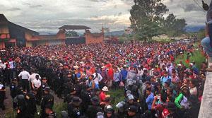 Tausende in Mexiko, Zehntausende auf den Straßen in den Ländern Mittelamerikas: Zwei, drei, viele Karawanen kommen…