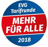 EVG-Tarifrunde 2018 bei der Bahn