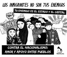 """""""Migrationskarawane"""" von Honduras durch Guatemala nach Mexico und in die USA"""