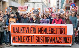 Türkei: Polizeirazzien in den Volkshäusern von Ankara am 16.10.2018 – mehrere Hausleiter festgenommen. Offizieller Grund: Willkür