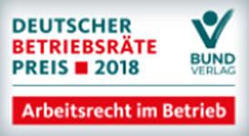 Deutscher Betriebsräte-Preis 2018