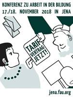 Akademikerin auf Abruf – Konferenz zu Arbeit in der Bildung am 17. und 18. November 2018 in Jena