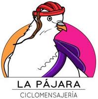 selbstorganisierte Gruppe von Fahrradlieferanten namens »La Pájara« in Spanien
