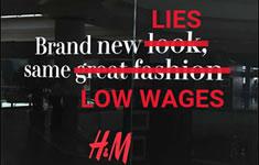 """H&M: Vom Versprechen existenzsichernder Löhne und der Realität der Armutslöhne"""""""