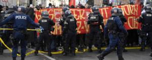 Erfolgreiche Demonstration zur Verhinderung der PNOS Aktion in Basel - trotz massivem Polizeieinsatz gegen Antifas