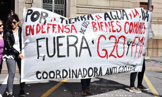 [30.11./1.12. 2018] G20 in Buenos Aires und Proteste dagegen