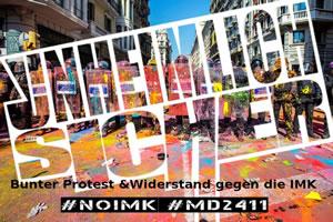 Aktionswoche vom 12. bis 16. und Großdemo am 24. November 2018 gegen die Innenministerkonferenz in Magdeburg