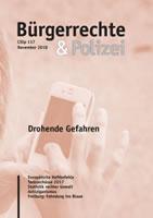 """Cilip / Bürgerrechte & Polizei 117/2018 mit dem Themenschwerpunkt """"Drohende Gefahren"""""""
