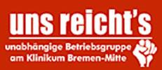Belegschaftszeitung »Uns reicht's« bei kommunalen Kliniken Bremen (Mitte)