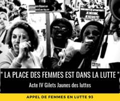 Femmes en lutte 93: Für einen Feminismus der proletarischen Viertel!