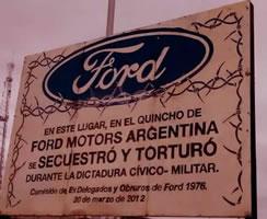 Ex-Geschäftsführer von Ford Argentinien wegen Verbrechen gegen die Menschlichkeit verurteilt