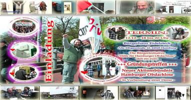 Obdachlosen-Demo in Hamburg im Januar 2019 - Vorbereitsungstreffen am 12. Dezember