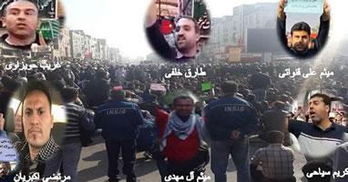 Verurteilt den brutalen Angriff des islamischen Regimes auf streikende Stahlarbeiter! 31 Arbeiter bei einer Nachtaktion in der iranischen Stadt Ahvaz am 17.12. verhaftet