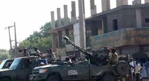 Nach sechs Tagen Proteste im ganzen Sudan erreichte die Bewegung auch die Hauptstadt Khartoum: Das Regime ist gut ausgerüstet - nicht zuletzt durch berlin...