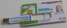 Die elektronische Gesundheitskarte des Kollegennetzwerkes: Alle vertraulichen Daten in meiner Brieftasche und nicht im Internet