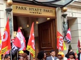 Streiks in Pariser Luxushotel Hyatt