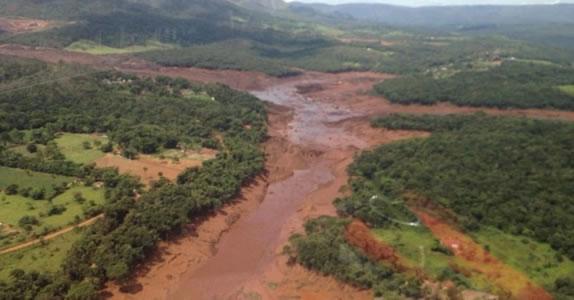 Dammbruch-Katastrophe in Brumadinho, Brasilien, im Januar 2019 (Foto: PSOL)