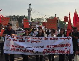 Seit 2009 bedroht: Jetzt werden thailändische eisenbahner zur Entschädigung verurteilt, als ob sie für schlechte Wartung verantwortlich wären - Solikampagne ab 8.1.2019