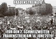 [Schweiz] Für den Frauen*streik am 14. Juni 2019!