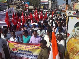 Es werden bei jedem Generalstreik gegen die indische Regierung mehr: Am 8. Januar 2019 beteiligten sich rund 200 Millionen Menschen