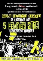 """Frankreich: Aufruf der """"gelben Westen"""" zum Generalstreik am 5.2.2019"""
