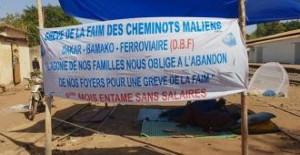 Hungerstreik malischer Eisenbahner seit dem 18.12.2018 wegen 10 Monaten ohne Lohn