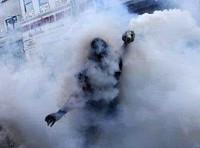 Demonstration gegen das sudanesische Regime in Omdurman am 15.1.2019 - auch mit Träengas nicht aufzuhalten...