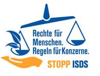 Rechte für Menschen, Regeln für Konzerne - Stopp ISDS!