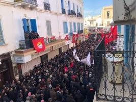 Generalstreik gegen IWF in Tunesien am 17.1.2019: Massen mobilisiert