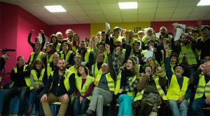 Gelbwesten Versammlung in Commercy am 27.1.2019