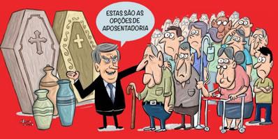 """Brasilien: Bolsonaros """"Rentenreform"""": """"Das sind euere Optionen für die Rente"""""""