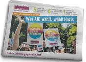 Zeitung zur Europawahl: Aufstehen gegen Rassismus zur Europawahl