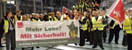 Tarifrunde für Sicherheitspersonal an Flughäfen 2019