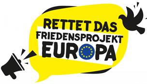 Für Frieden. Für Menschenrechte. Für Europa. 74 Organisationen rufen zur Rettung des Friedensprojekts Europa auf