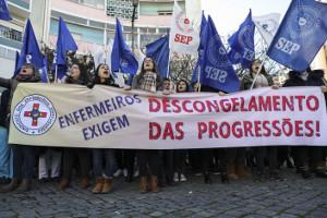 Der Streik der SEP im Gesundheitswesen Portugals vom 22. bis 25. Januar 2019 war noch legal - das Verbot durch die sozialdemokratische Regierung kam erst am 7.2