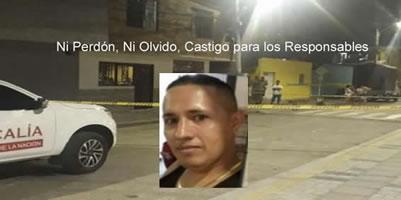 Jose Valencia Bauarbeiter am 25.2.2019 im kolumbianischen Bucamaranga ermordet