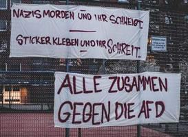 AfD bekämpft Antifa Altona Ost in Hamburgs Ida Ehre Schule - Solidarität dagegen