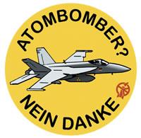 Atombomber - nein danke!