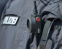 Bodycam der Polizei